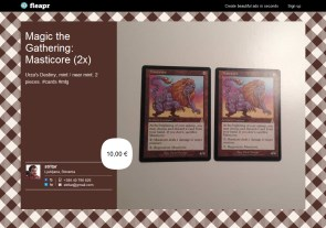 Magic the Gathering: Masticore (2x)